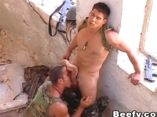 Military Fuck Outdoor