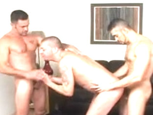 Lito Cruz, Tony Serrano BB 3some