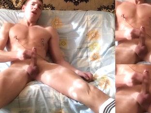 Mitya Chezz, Masturbation in socks
