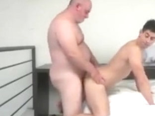 Exotic gay scene with Old Young scenes