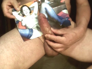 Tribute for  - cum all over her body