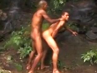 Brazilian men fucking outdoors