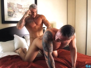 Big dick gay anal sex and cum in mouth