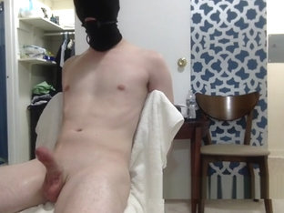Cute white twink bound, gagged, and edged
