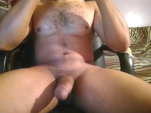 Muscular Arab hunk playing with himself