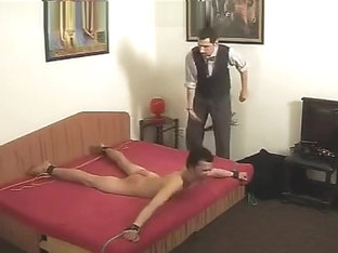 STRAIGHT BOY GETS A STRONG SPANKING
