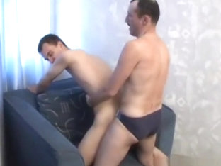 russian dad and son