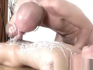 Young african bondage gay Dom boy Kieron Knight has a handsome