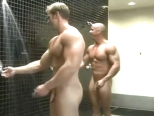 Vin Marco & Nate Christansen nude in GYM