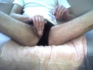 Pissing and masturbating in my underwear