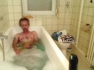 Taking a bath 2
