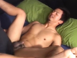 Fabulous Asian gay guys in Best fingering, handjob JAV movie