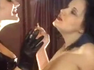 Smoking domme sub