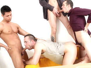Men Only Orgy - BigDaddy