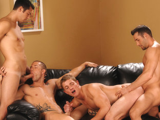 Marcus Mojo & Rod Daily & Tyler Hunt & Zac in Clubbing Or Fucking XXX Video