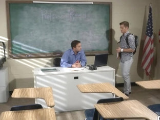 Teacher confronts student with gay photos and gives the student a lesson