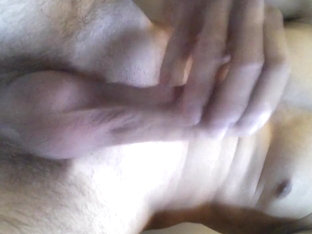 Just masturbating