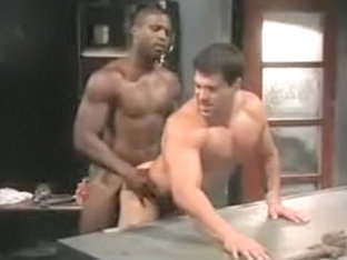 Exotic male in hottest hunks, interracial gay sex scene