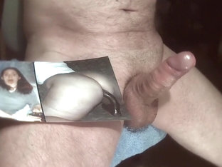 Tribute for Yvonne79 - sperm on her hot ass and face
