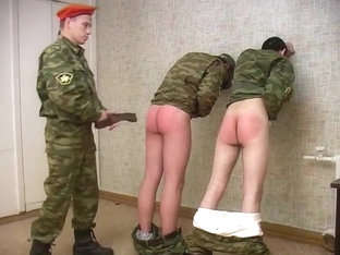 Russian Army Spanking
