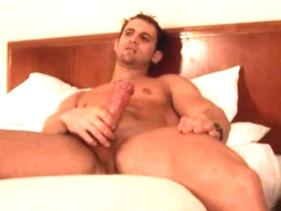 Fabulous male pornstar in horny big dick, tattoos gay porn movie