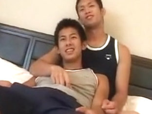 Crazy male in fabulous asian gay sex clip
