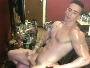Handsome Muscle Boy Cumsvery Hot Smooth Bubble Ass On Cam