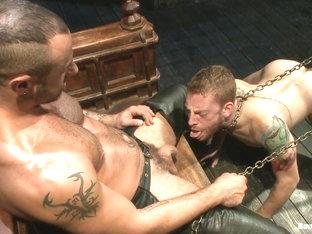 BoundGods : CJ Madison returns with a tight chain around his boys neck