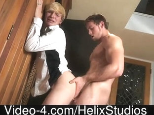 Golden-Haired Boy's Arse Humiliated