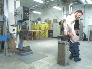 Mechanic edged by his own tools