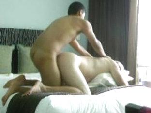 Gay Asian BF fucks my ass