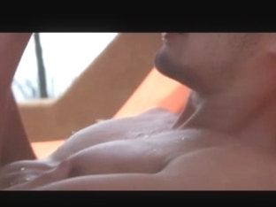 Beautiful gay couple's sexytimes in paradise