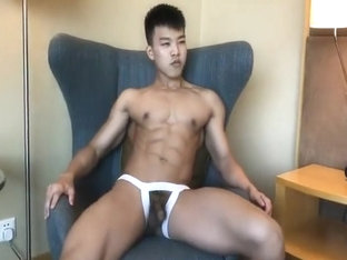 Young Asian Muscle