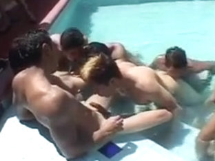 Latino Twinks PoolParty