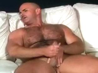 Hairy bear jerking