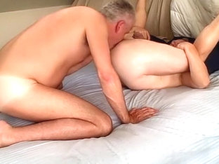 Ass licking mature top fucks