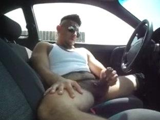 Masturbation in the car