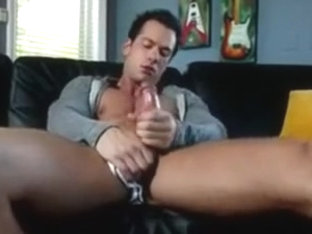 Sexy gay jerking solo