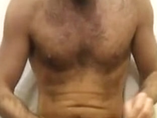 4 x cum from hairy guy