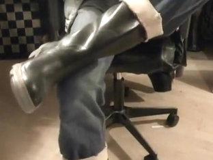 nlboots - rubber boots, jeans