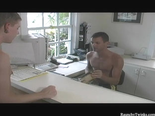 RaunchyTwinks Video: Blake and Joey's mind games