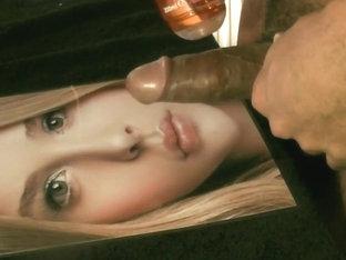 Cum tribute #4 to Chloe Moretz