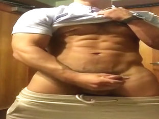 Horny male in hottest hunks, str8 gay xxx clip