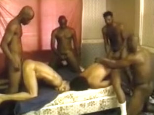 Hot Ebony Orgy Party