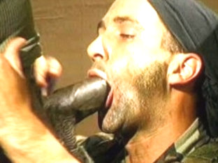 Fabulous male pornstar Paul Carrigan in crazy latins, uniform gay sex clip