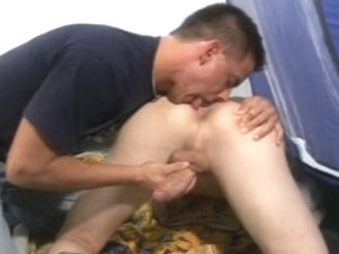 Crazy male pornstar in incredible rimming, swallow homosexual porn scene