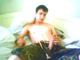 My hot gay boy friend on webcam show