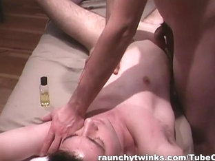RaunchyTwinks Video: Muscled Hunks Enjoy Each Other