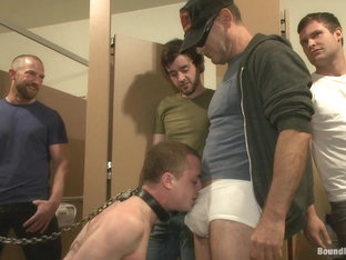 Bound in Public. Holden Phillips wants to be used and humiliated to the extreme
