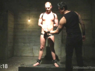 30 minutes Of Torment. Hot southern boy relentlessly fucked and beaten